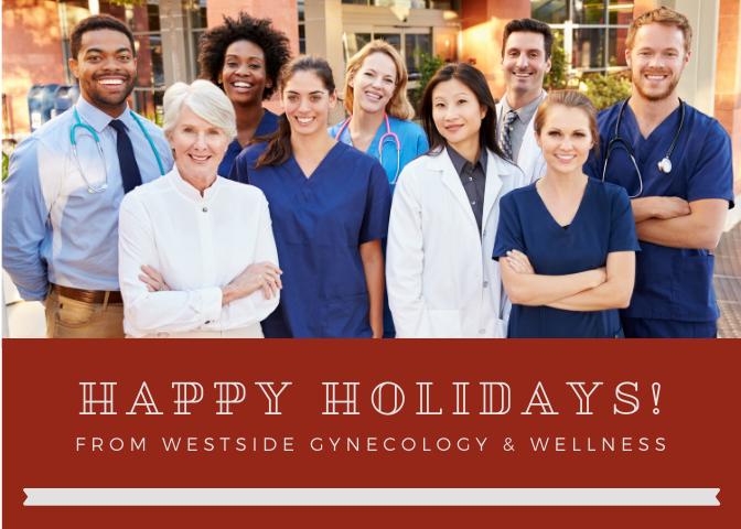 Example Medical Marketing Holiday Card